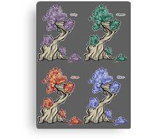 Tree - season square Canvas Print