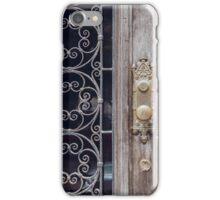 Baltimore Door no. 4 iPhone Case/Skin