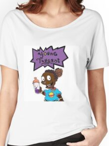 young thugrat Women's Relaxed Fit T-Shirt