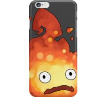 Studio Ghibli - Howl's Moving Castle - Calcifer iPhone Case/Skin