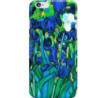 Van Gogh Garden Irises HDR iPhone Case/Skin
