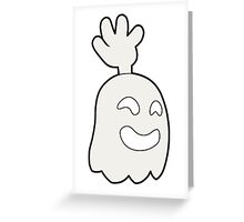 Regular Show - Hi-5 Ghost Greeting Card