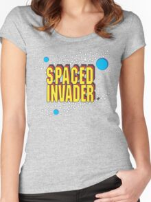 Space Invaders spoof - Spaced Invader Women's Fitted Scoop T-Shirt