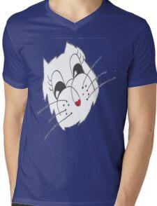 Cat Chat Mens V-Neck T-Shirt