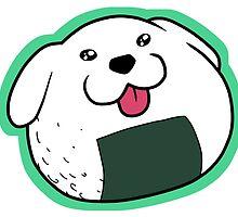 Riceball Onigiri Dog by 57MEDIA