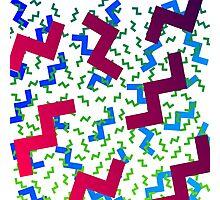 wacky pattern Photographic Print