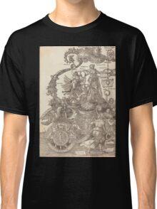 Albrecht Dürer or Durer The Triumphal Chariot of Maximilian I The Great Triumphal Car plate 1 of 8 Classic T-Shirt