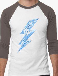 THUNDER FLASH Men's Baseball ¾ T-Shirt