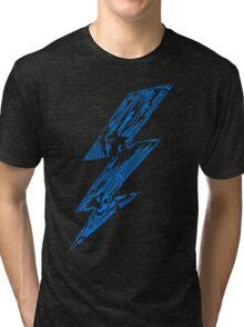 THUNDER FLASH Tri-blend T-Shirt