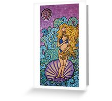 Birth of a Venus Greeting Card