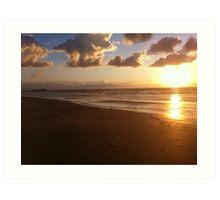 Port Aransas Sunrise Art Print