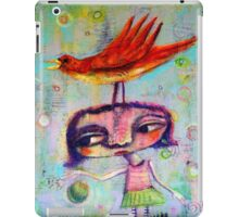 Bouncing a Ball With A Bird On My Head iPad Case/Skin