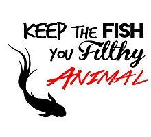 Keep The Fish Mr.Robot Photographic Print