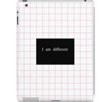 different 2 iPad Case/Skin