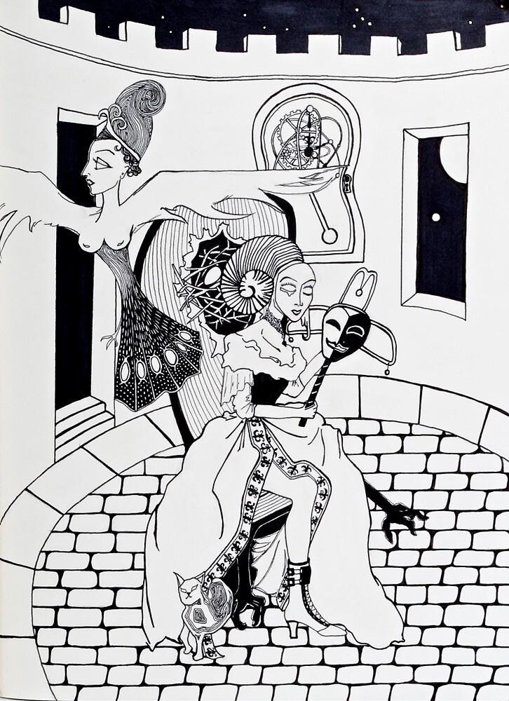 Eve Reborn as the Phoenix by zoequixote