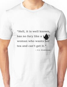 Tea with Wodehouse Unisex T-Shirt