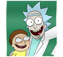 """Rick and Morty """"Selfie"""" Poster"""