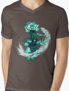 Malachite - Gem Glow Mens V-Neck T-Shirt