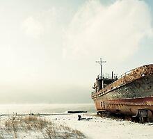 Shipyard by inikphoto