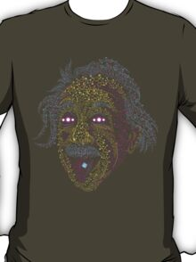 Acid Scientist tongue out psychedelic art poster T-Shirt