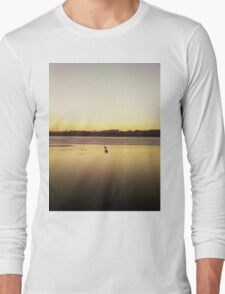 lonely swan Long Sleeve T-Shirt
