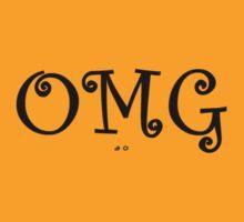 OMG - Order My Grande! (black text) by aowear