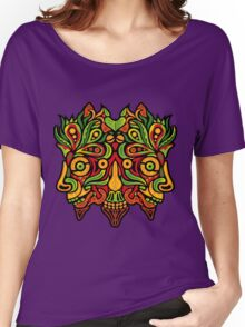 Psychedelic jungle demon Women's Relaxed Fit T-Shirt