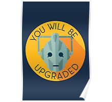Doctor Who Cybermen You Will Be Upgraded Poster