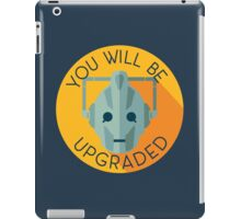 Doctor Who Cybermen You Will Be Upgraded iPad Case/Skin