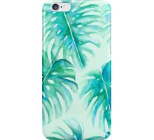 Paradise Palms Mint iPhone Case/Skin