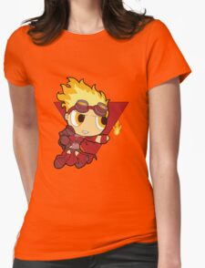 Powderpuff Chandra Nalaar Womens Fitted T-Shirt