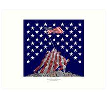 The Empire strikes back - Iwo Jima Art Print