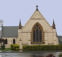 St. Matthew's Anglican Church New Norfolk Tasmania 1825  by PaulWJewell