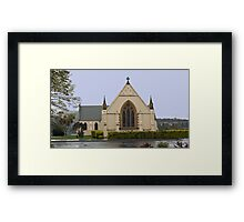 St. Matthew's Anglican Church New Norfolk Tasmania 1825  Framed Print