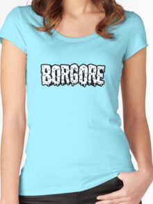 BORGORE LOGO Women's Fitted Scoop T-Shirt