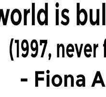 This World is Bullshit - Fiona Apple 90's MTV by ArtWithHearts11