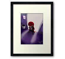 Mini Hero Framed Print