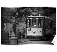 """""""Trolley"""" - Memphis, Tennessee Poster"""