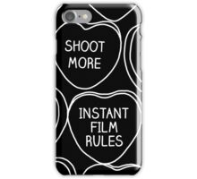 Conversation Hearts For Photographers iPhone Case/Skin