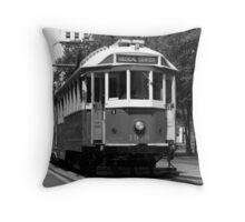 Memphis Trolley Throw Pillow