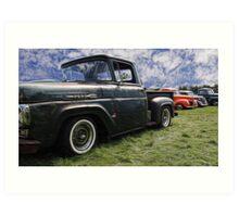 ford pickup Art Print