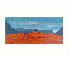 Barnesmore Gap, Donegal, Ireland Art Print