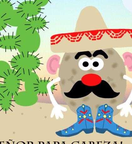 Mexican Mr. Potato Head Sticker
