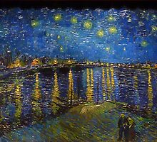 starry night over the rhone by fsdghdvfdgd