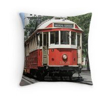 Memphis Trolley (2) Throw Pillow