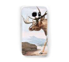 Bull Moose Vintage Drawing Samsung Galaxy Case/Skin