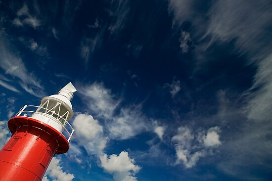 North Mole Lighthouse, Fremantle, Western Australia. by Paul Foley