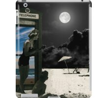 A call for sunny skies iPad Case/Skin