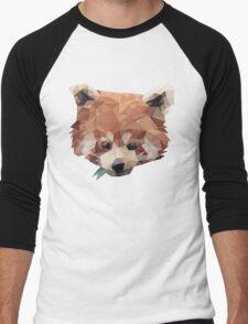 Tshirt RedPanda Tshirt Firefox Men's Baseball ¾ T-Shirt
