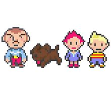 Earthbound Mother 3 Print by niymi